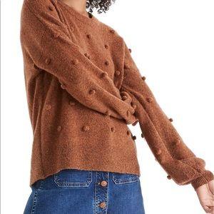 Madewell Brockton Bobble Sweater